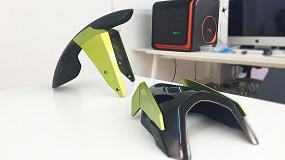 Foto de La moto eléctrica Volta, diseñada utilizando la impresión 3D