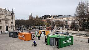 Foto de 'Biomasa en tu Casa' inauguró su campaña de primavera el pasado jueves 28 de abril en Segovia