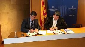 Foto de Ecolec firma un acuerdo con ACE Cataluña para aumentar la recogida de residuos eléctricos y electrónicos