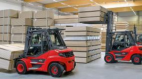 Foto de Nuevas carretillas diésel y GLP Linde H50-H80 EVO
