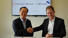 Fotografia de Hanwha Techwin y Oxehealth llegan a un acuerdo tecnol�gico global para lanzar una c�mara de videovigilancia especialmente dise�ada para monitorizar las constantes vitales
