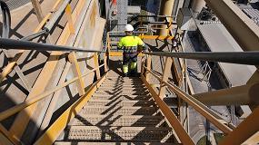 Foto de El sector cementero ha reducido los accidentes con baja un 75% en la última década
