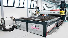 Foto de Innovación en corte por láser en el stand de Grupo Redima