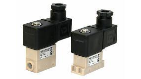 Foto de Electroválvula proporcional de 22 mm de Emerson para aplicaciones analíticas y médicas