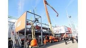 Foto de JLG presenta nuevos equipos y servicios enfocados al cliente en la feria Bauma 2016