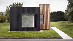 Foto de b home, un sistema de vivienda modular con ventanas Technal