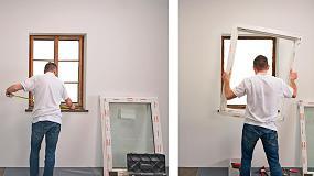 Foto de Sustitución fácil, rápida y limpia de ventanas