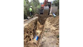 Foto de Saint-Gobain PAM España colabora en el abastecimiento de agua potable a Marín