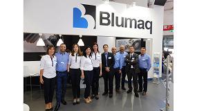 Foto de Blumaq salda con un éxito rotundo su asistencia a Bauma 2016