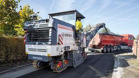 Foto de Fresadoras compactas de Wirtgen, m�xima maniobrabilidad para trabajar en obras complejas