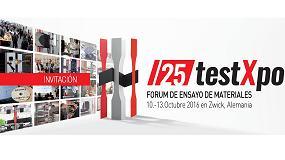 Foto de TestXpo - F�rum Internacional de Ensayo de Materiales, celebrar� su 25� edici�n en octubre
