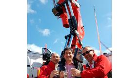 Foto de Agrutrans, primera empresa española en adquirir la primera Grúa FASSI F2150RAL