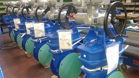 Foto de Saint-Gobain PAM España instala 28 válvulas de compuerta motorizadas en la Variante del túnel de Pajares