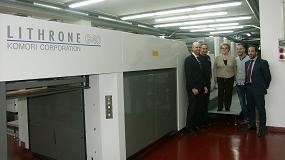 Foto de Grupo Forletter se suma al cambio tecnológico offset H-UV