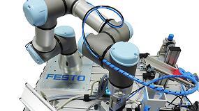 Foto de Universal Robots y Festo llevan la robótica colaborativa a las aulas de formación industrial