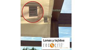 Foto de Etiqueta RECacril, sinónimo de calidad y garantía
