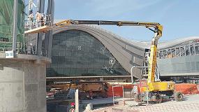 Foto de Plataformas Haulotte para hacer realidad la ampliación del Aeropuerto Internacional de Abu Dabi