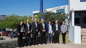 Foto de Autoridades de la Generalitat Valenciana visitan Aimplas