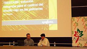 Foto de Syngenta presenta en Valencia su estrategia TreeCare para luchar contra el picudo rojo de las palmeras