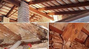 Foto de Aidima y el arquitecto Jorge Piera potencian la conservación y rehabilitación de edificios con madera en los Poblados Marítimos de Valencia