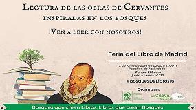 Foto de PEFC invita a participar en su homenaje a Cervantes en la Feria del Libro de Madrid