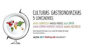 Fotografia de Cinco continentes, cinco culturas gastron�micas representadas en San Sebastian Gastronomika