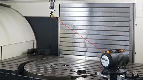 Foto de Verificación y compensación volumétrica de errores geométricos mediante tecnología láser