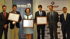 Foto de Fremap premia a tres asociados de Neobis por su contribución a la disminución de la siniestralidad laboral