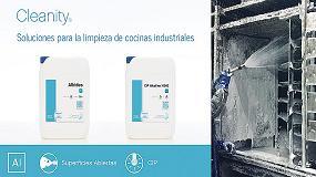 Foto de Cleanity presenta dos nuevas soluciones para mejorar la limpieza de las cocinas de la Industria Alimentaria