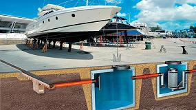 Fotografia de Soluciones de drenaje ACO para puertos deportivos