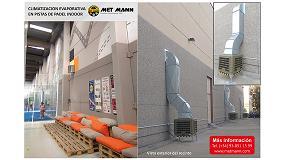 Foto de Climatizacion evaporativa de pistas de padel indoor