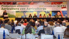 Foto de Miguel Blanco, reelegido secretario general de COAG
