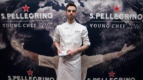 Fotografia de David Andr�s, segundo chef de ABaC, ganador de S.Pellegrino Young Chef Iberia
