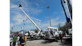 Foto de Oil&Steel expone en Bauma 2016 sus últimos modelos de plataformas aéreas