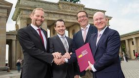 Foto de Alemania, país asociado de Fruit Logistica 2017 en la conmemoración de su aniversario