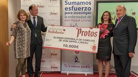 Fotografia de Bodegas Protos dona 10.000 � a Alianza Espa�ola de familias de von hippel-lindau