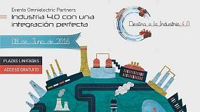 Foto de Omnielectric organiza en Valencia el seminario 'Destino a la Industria 4.0'