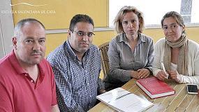 Foto de AEMODA y la Escuela Valenciana de Cata firman un acuerdo de colaboración