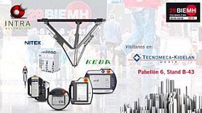 Foto de Intra Automation y Soluciones Industriales Tecnomeca, presentes en la 29ª BIEMH