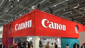 Foto de Canon amplía en Drupa los límites de la impresión digital y desarrolla el potencial de negocio para los impresores