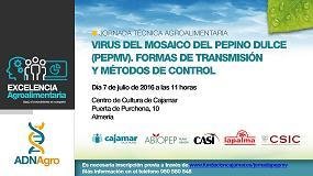 Foto de Fundación Cajamar organiza una jornada técnica sobre el pepino dulce