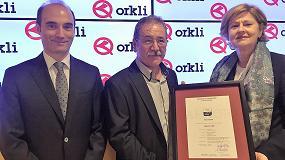Foto de Orkli, primera empresa industrial del País Vasco con el certificado Aenor de empresa saludable