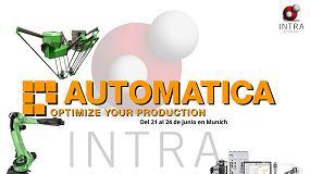 Foto de Soluciones robóticas de Intra Automation en Automatica 2016