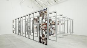 Foto de El galardonado Pabellón de España en la Bienal de Venecia, construido con estructura Knauf