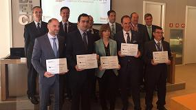 Foto de Ibarmia, Mizar Additive y Danobatgroup, ganadores del Premio a la Innovación en fabricación avanzada