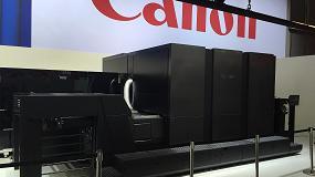 Foto de Voyager, el prototipo de Canon de impresora de alta producción y calidad fotográfica