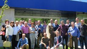 Foto de Ferreteros pertencientes a QF+ visitan las instalaciones de Izar en Amorebieta