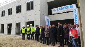 Foto de Lemken construye una nueva sucursal en Francia
