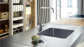 Foto de Nuevo modelo de monomando fregadera de cocina para Osmosis de la serie Tau de Genebre