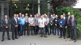 Foto de Hasco French Tour: Clientes de Francia, B�lgica y Suiza de visita en L�denscheid